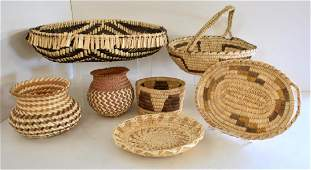 SOUTHWEST NATIVE AMERICAN INDIAN BASKETS