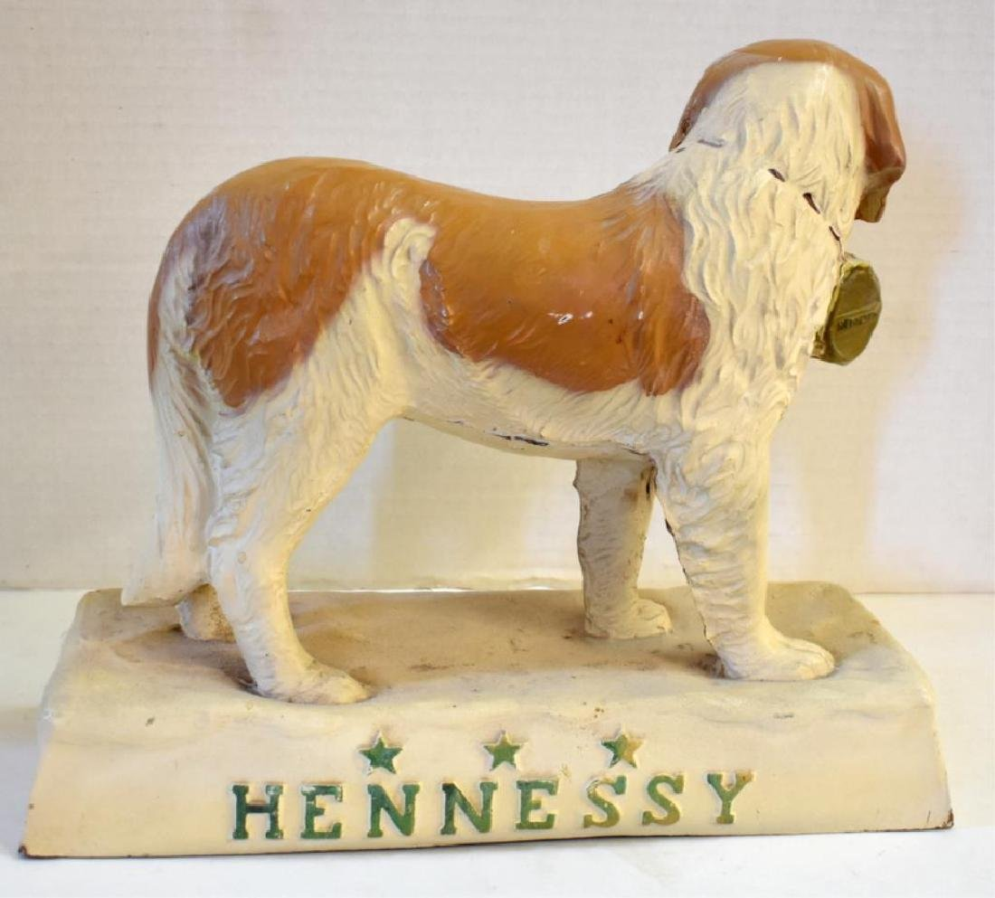 FIGURAL HENNESEY WHISKEY BACK BAR DISPLAY - 3