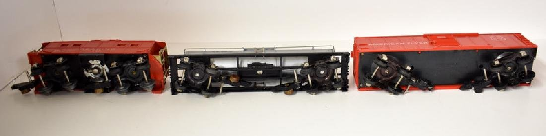 POST WAR AMERICAN FLYER HUDSON FREIGHT SET - 10