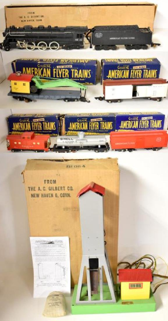 POST WAR AMERICAN FLYER HUDSON FREIGHT SET