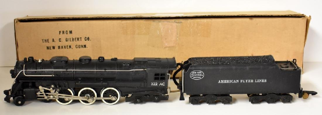 POST WAR AMERICAN FLYER HUDSON FREIGHT SET - 2