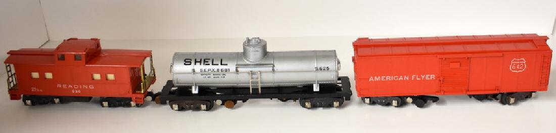 POST WAR AMERICAN FLYER HUDSON FREIGHT SET - 7