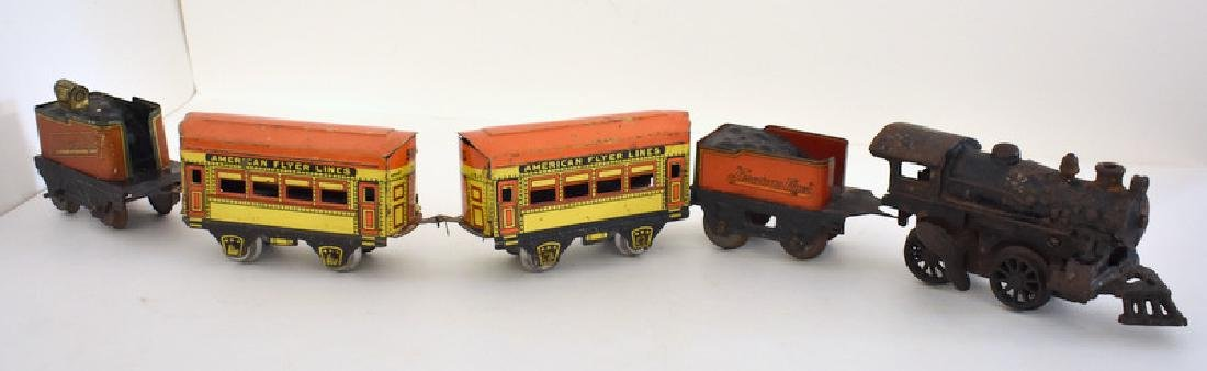 AMERICAN FLYER TIN LITHO TOY TRAIN