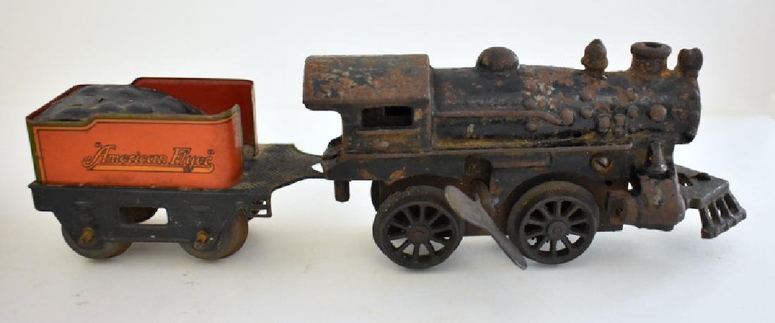 AMERICAN FLYER TIN LITHO TOY TRAIN - 2