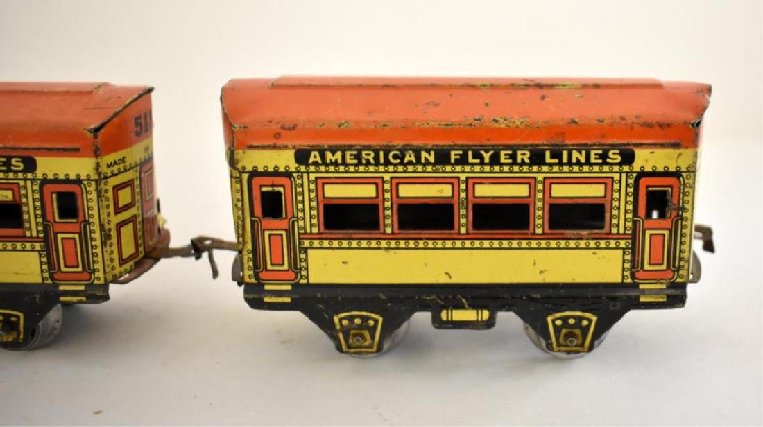 AMERICAN FLYER TIN LITHO TOY TRAIN - 3