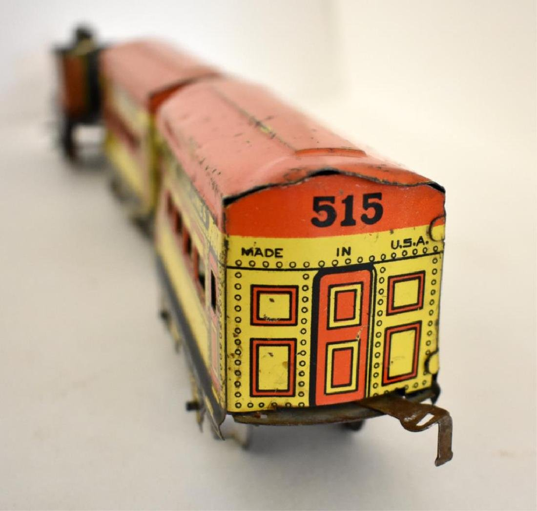 AMERICAN FLYER TIN LITHO TOY TRAIN - 4