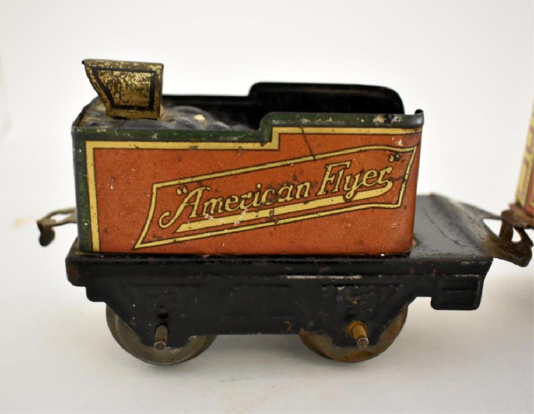 AMERICAN FLYER TIN LITHO TOY TRAIN - 5