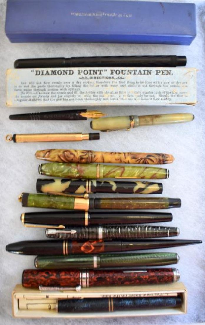 ASSORTED FOUNTAIN PENS