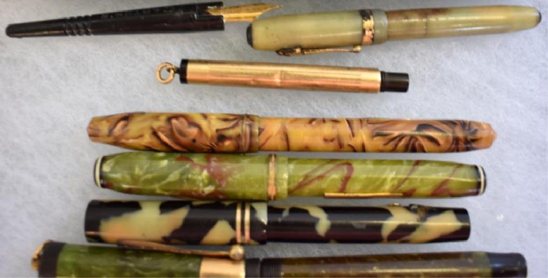 ASSORTED FOUNTAIN PENS - 4