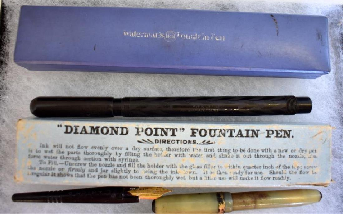 ASSORTED FOUNTAIN PENS - 5