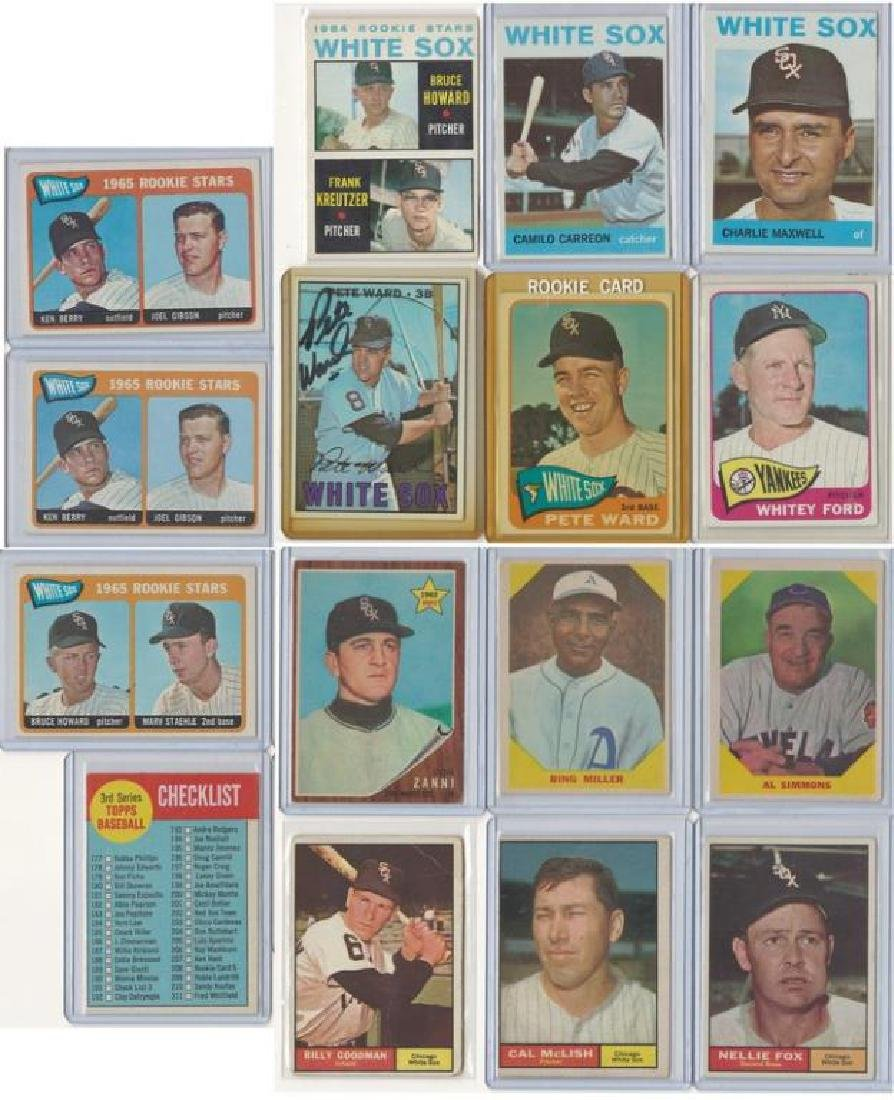 ASSORTED 1960s BASEBALL TRADING CARDS