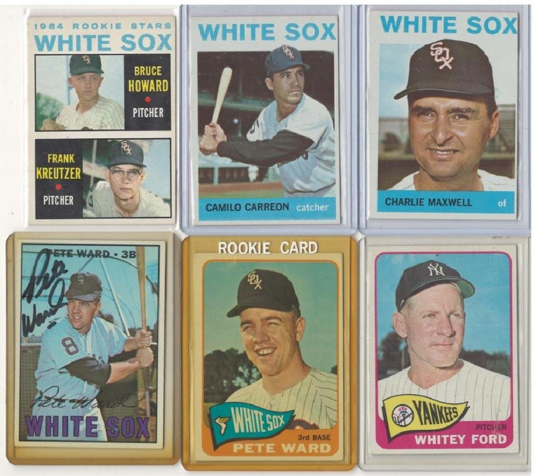 ASSORTED 1960s BASEBALL TRADING CARDS - 2