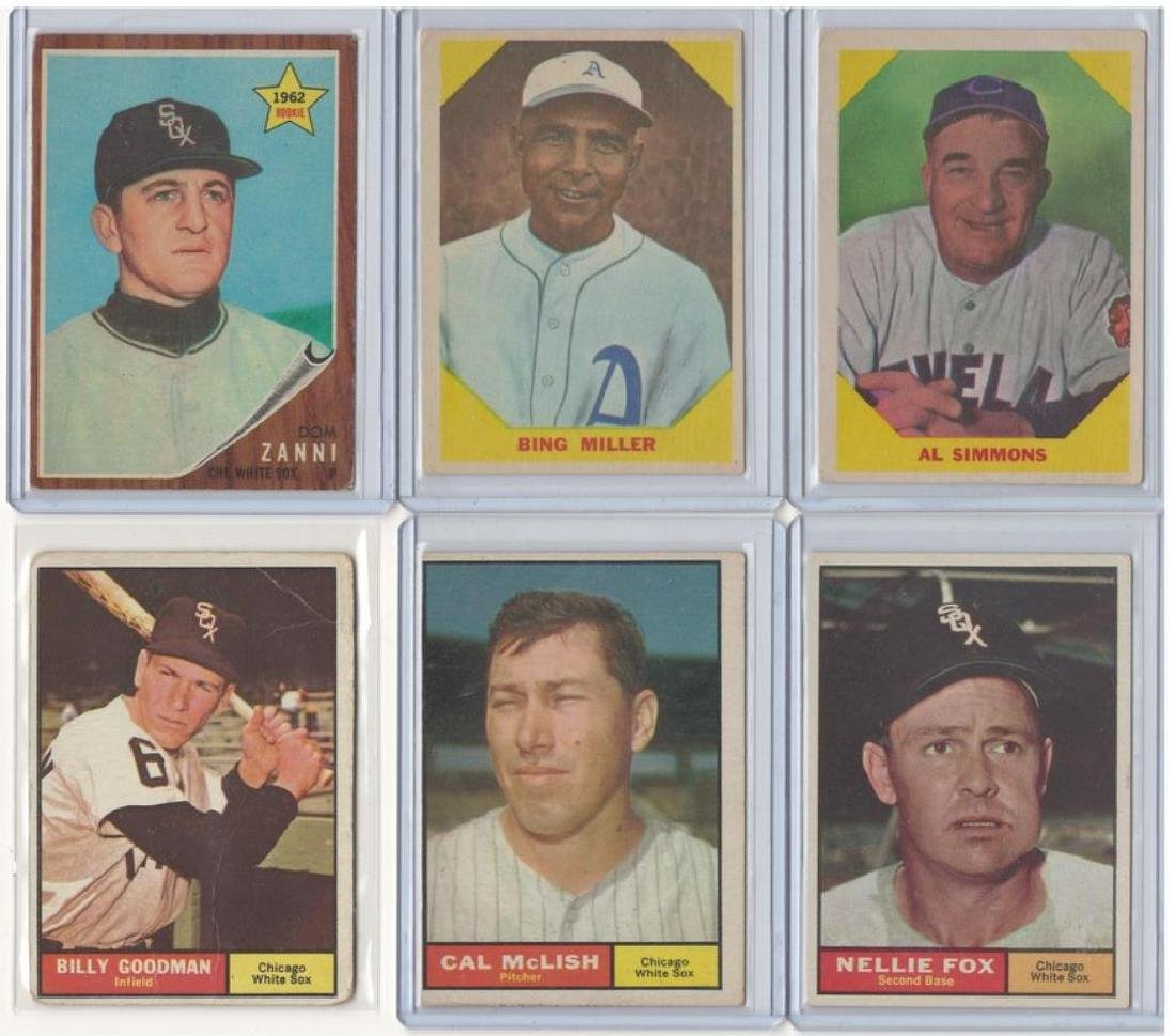 ASSORTED 1960s BASEBALL TRADING CARDS - 4