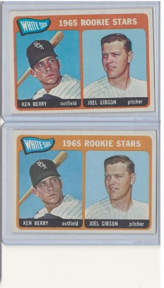 ASSORTED 1960s BASEBALL TRADING CARDS - 6