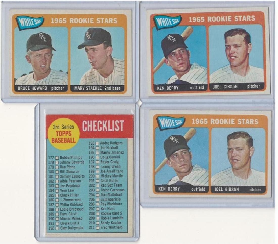 ASSORTED 1960s BASEBALL TRADING CARDS - 7