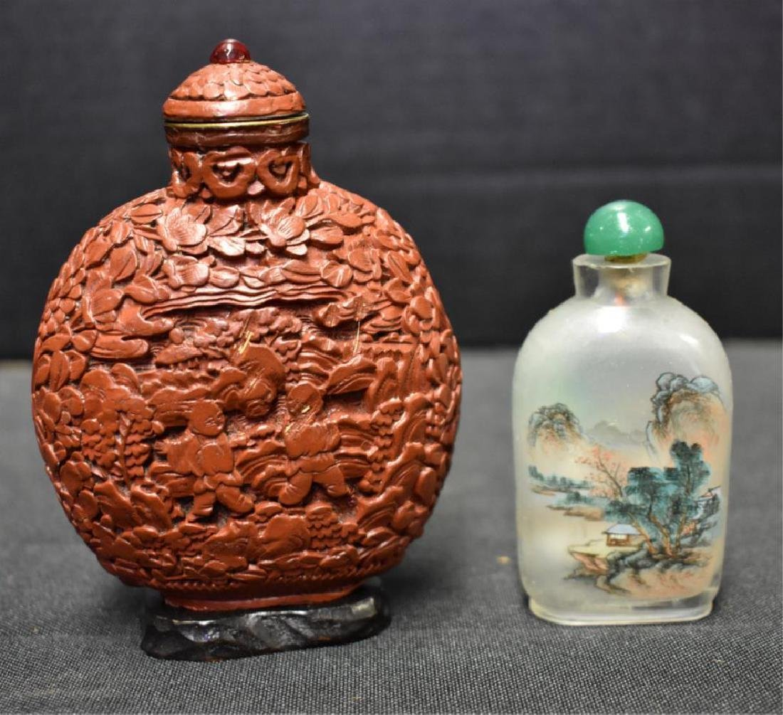 ASSORTED SNUFF AND PERFUME BOTTLES - 3