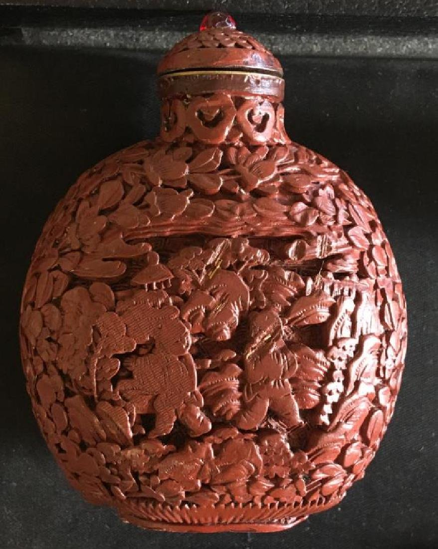 ASSORTED SNUFF AND PERFUME BOTTLES - 8