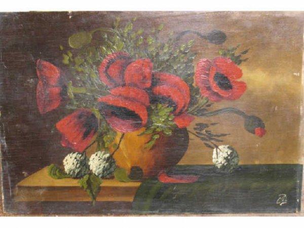 11: Floral Still Life - C. Pel