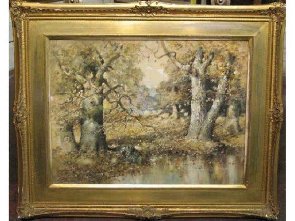 18: Landscape - J. A. Seaford, Indiana Artist