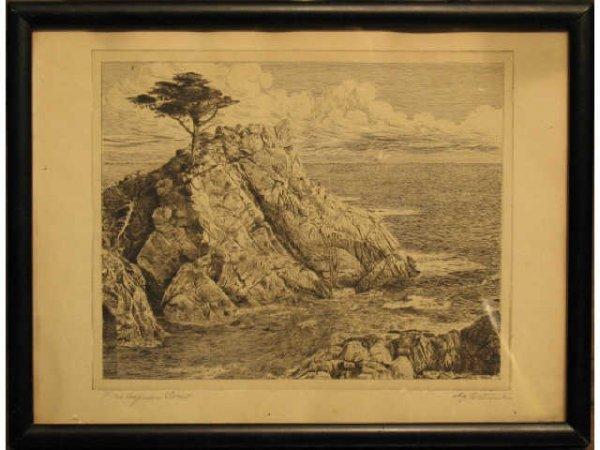 "23: ""Lone Cypress Point"" - William Ostrander"