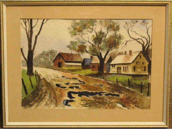 26: Farmhouse - Unsigned