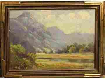 "83: ""Malibu Mountains"" - F.J. Girardin"