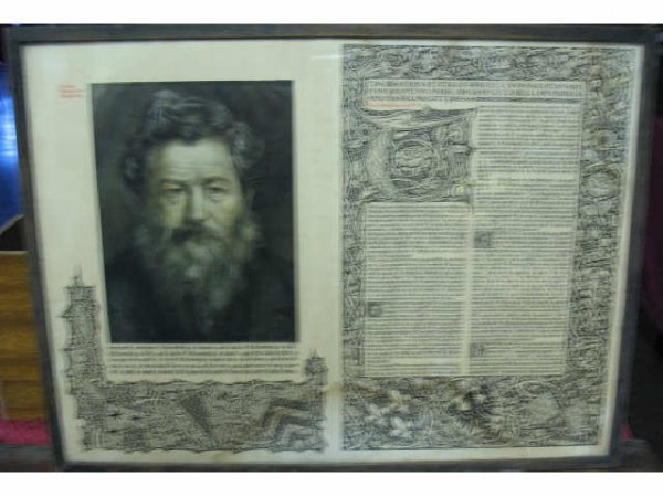 1009: William Morris Print