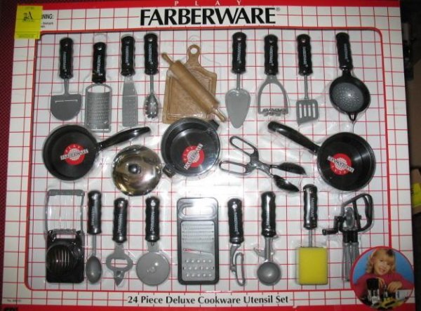 22: Farberware Toy Cookware