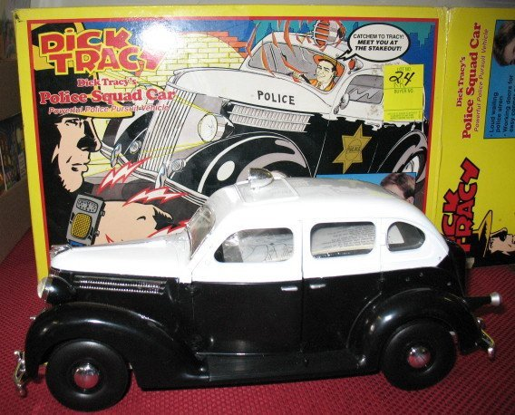 24: Dick Tracy Police Car