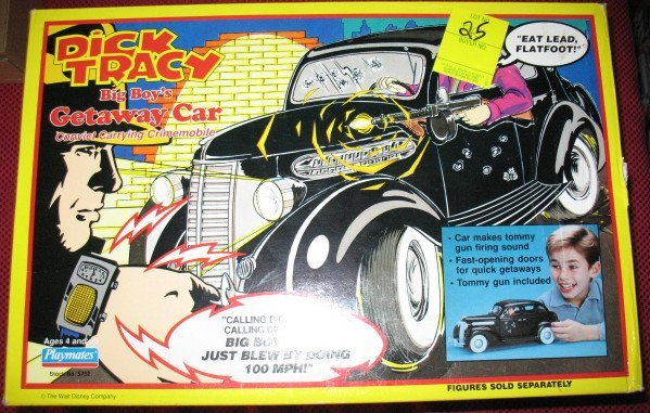 25: Dick Tracy Getaway Car