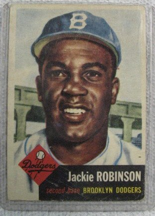 1159: Jackie Robinson Base Ball Card