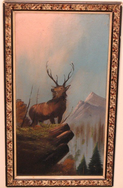 2019: Mountain with Elk