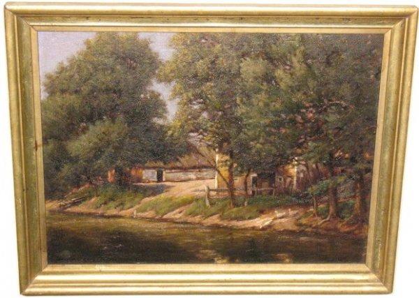 2020: Farm House Along River