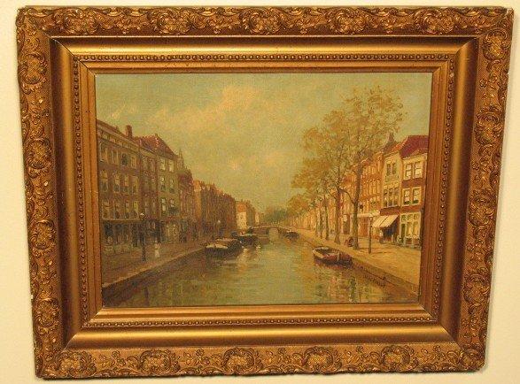 2038: European Canal Scene by Wagemans