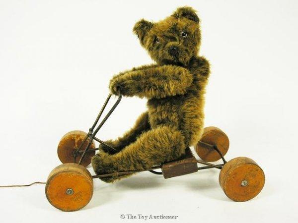2: A rare James S. Renvoize Coaster Teddy Bear