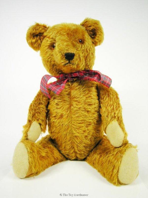 12: A German cinnamon mohair Teddy Bear