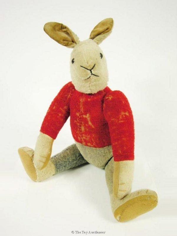 17: A very rare Strunz dressed rabbit