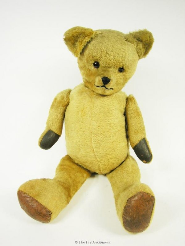 19: A large post-war British Teddy Bear