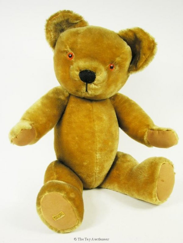 21: A large Merrythought Teddy Bear, 1960's