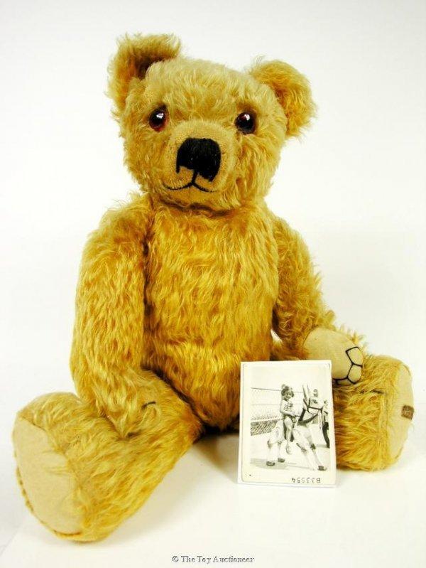 22: Edward, a Merrythought Teddy Bear