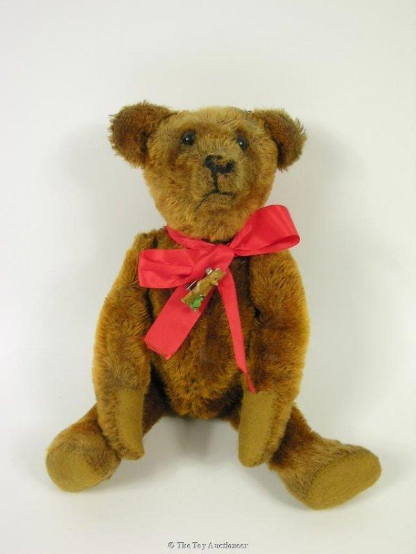 106: A cinnamon mohair Teddy Bear, possibly American