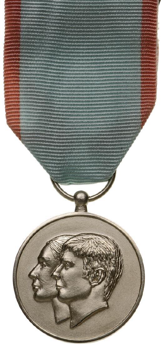 Mariage Medal of Prince Leka, 2016