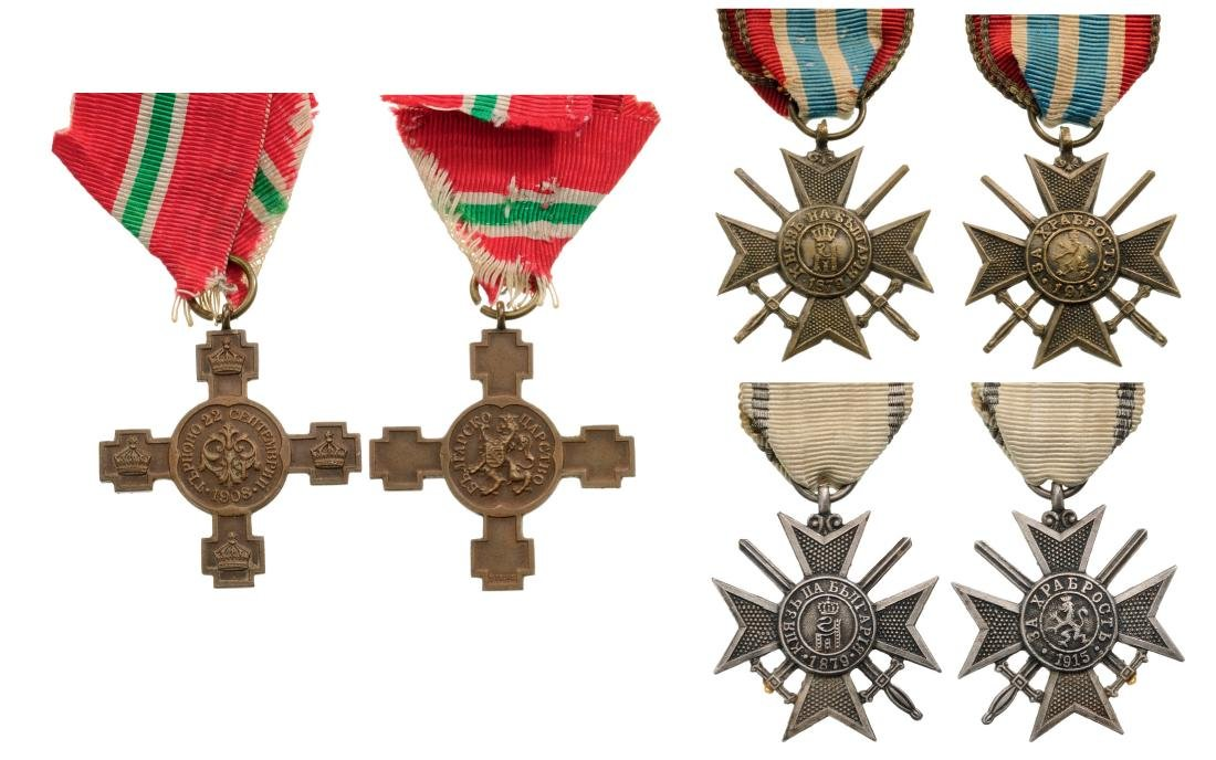 Lot of 3 Military Crosses