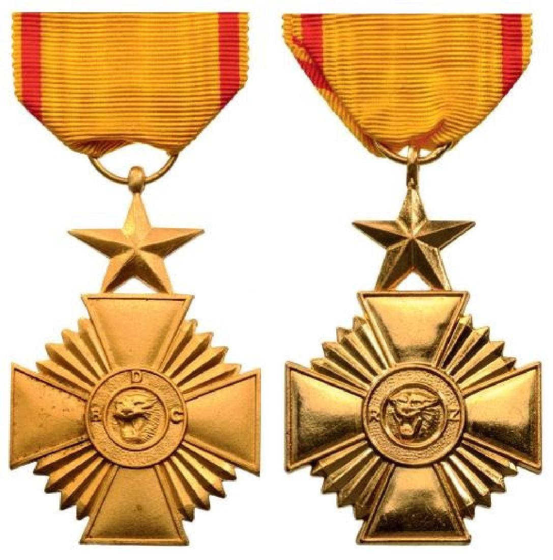 Lot of 2 Military Merit Medals