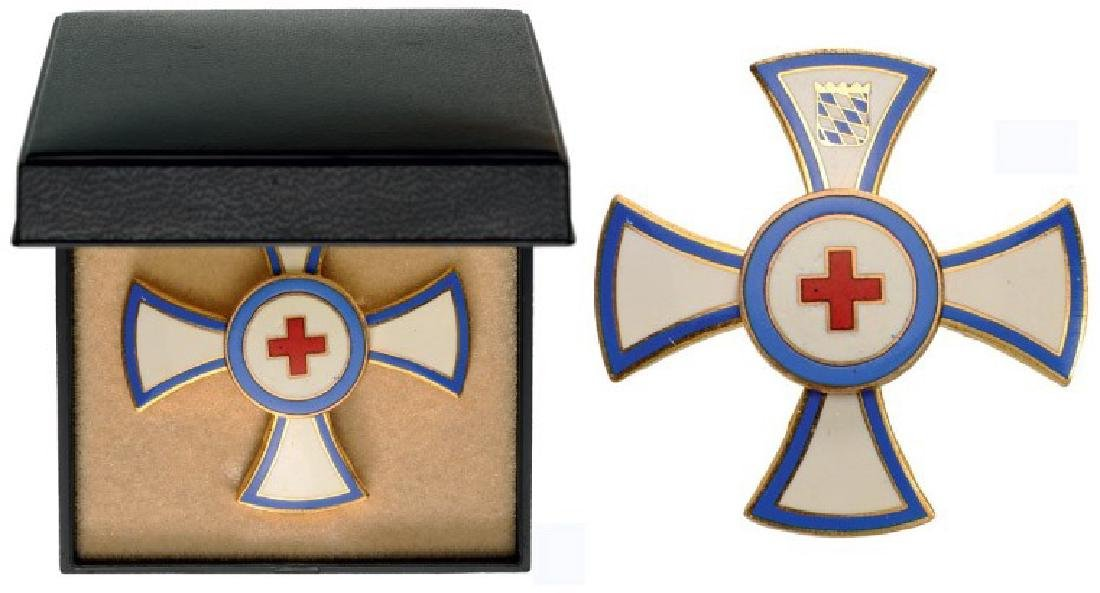 DECORATION FOR SERVICES TO THE BAVARIAN RED CROSS,