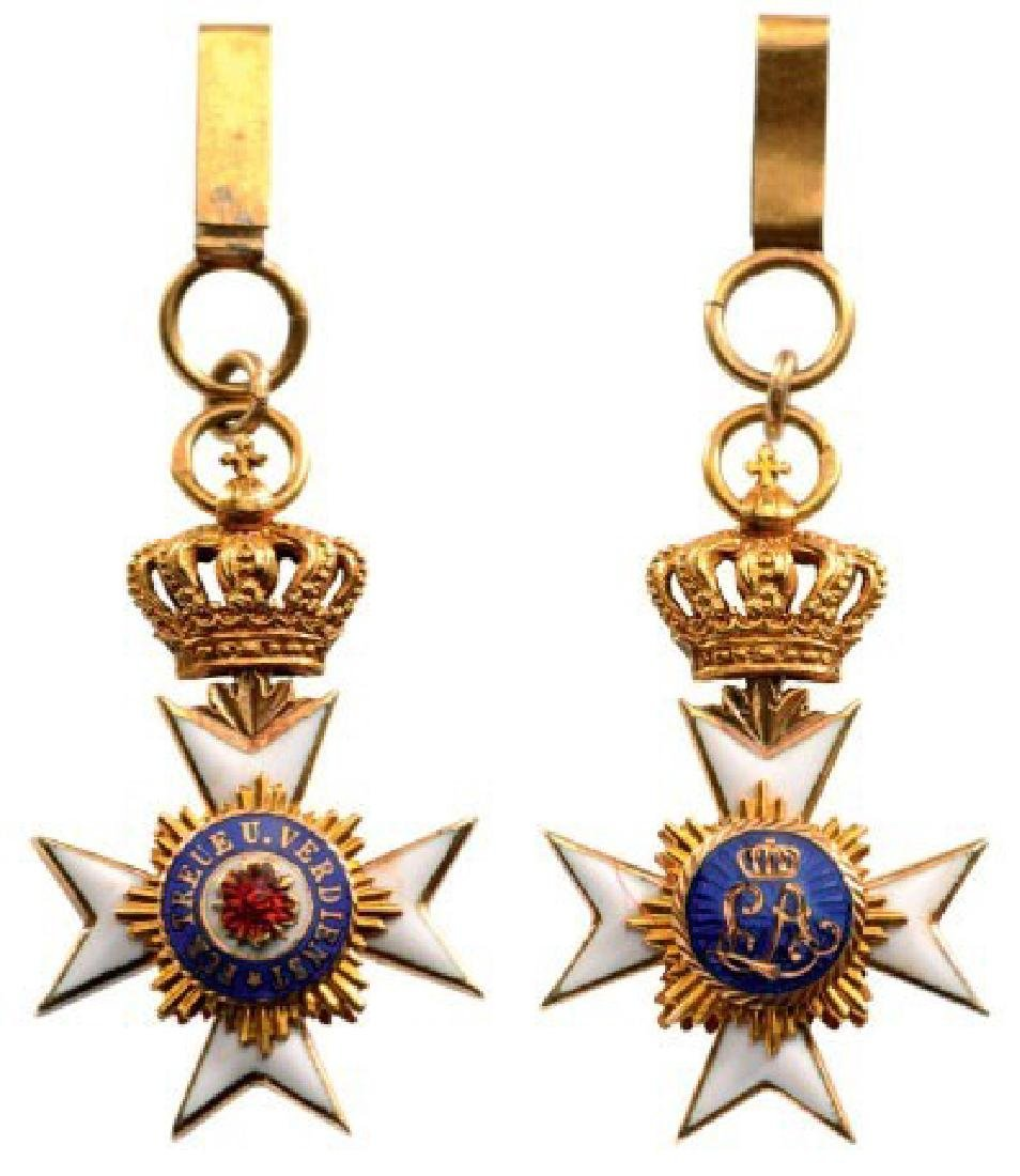 PRINCELY HOUSEORDER, 1869