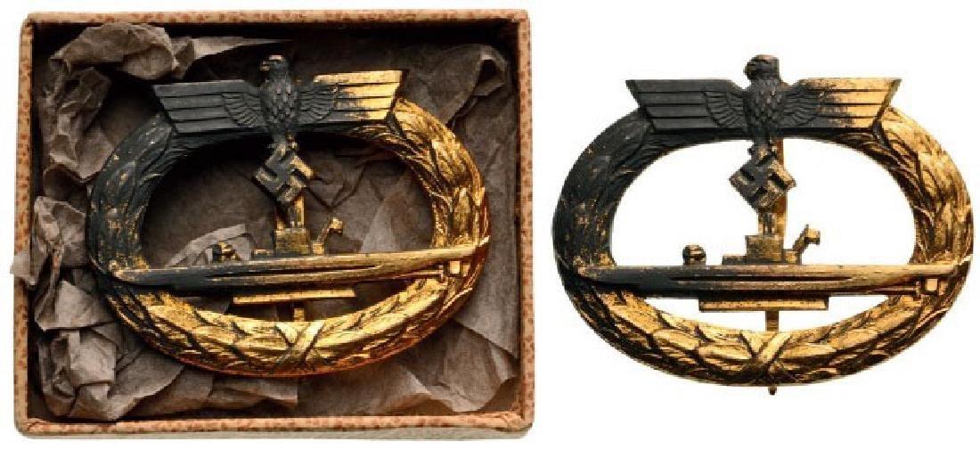 Kriegsmarine Uboot War Badge, instituted in 1939
