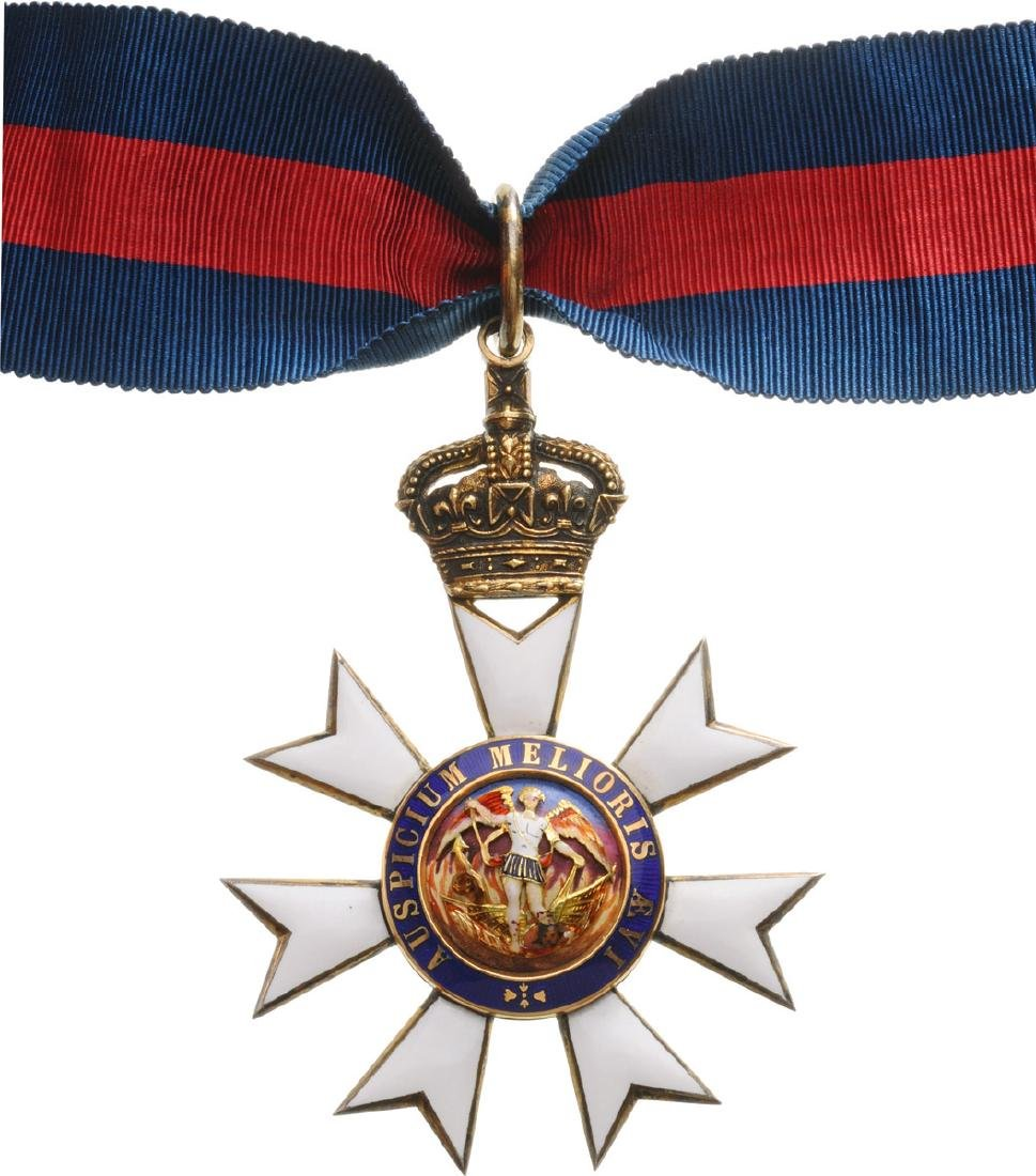 THE MOST DISTINGUISHED ORDER OF SAINT MICHAEL AND SAINT - 2