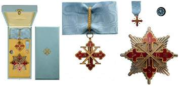 THE SACRED MILITARY CONSTANTINIAN ORDER OF SAINT GEORGE