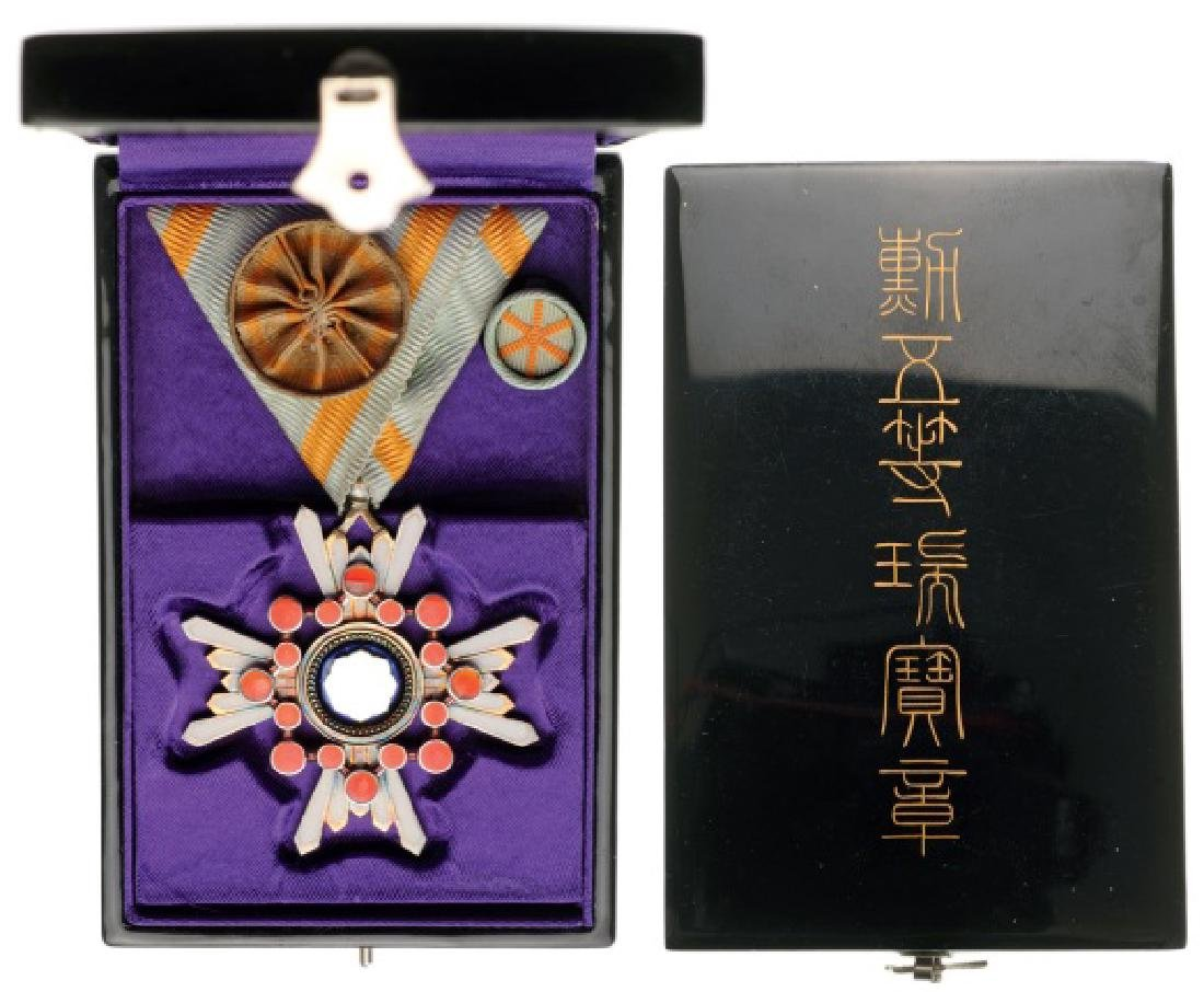 ORDER OF THE SACRED TREASURE (Kunnito zuihisho)